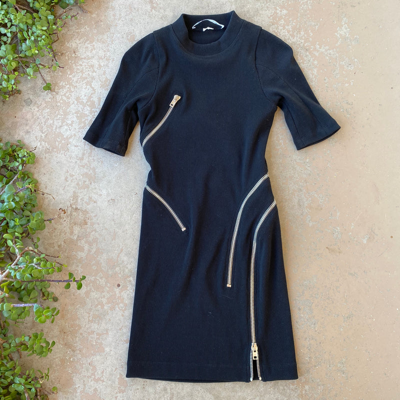 Alexander Wang Zipper Dress, Size Small