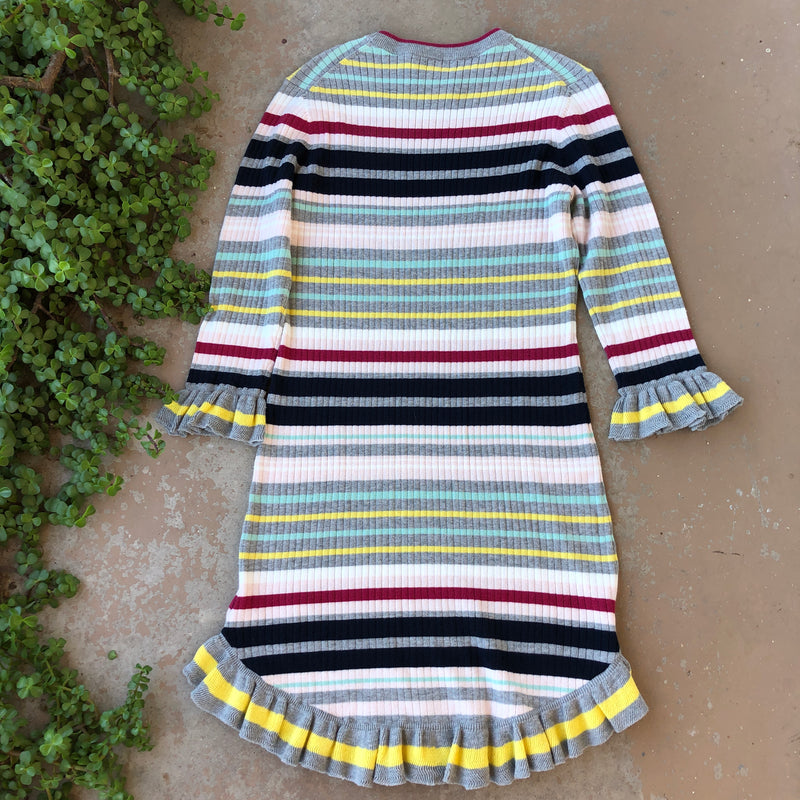 Ted Baker Stripe Sweater Dress, Size US 8