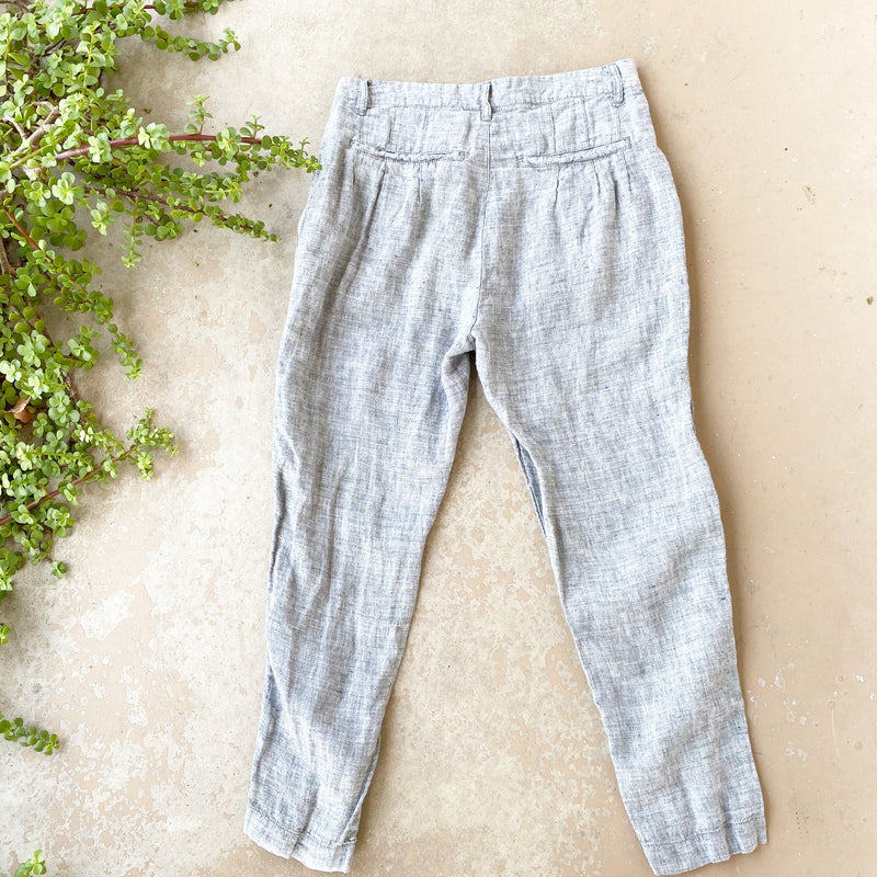 Free People Linen Pants, Size 2
