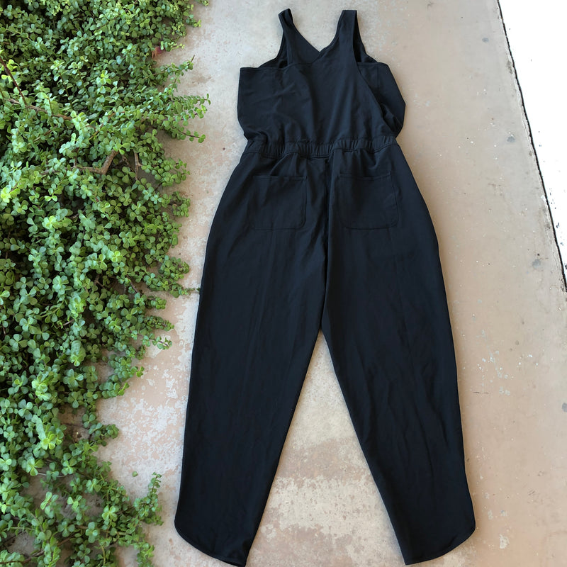 Patagonia Black Jumpsuit, Size XL