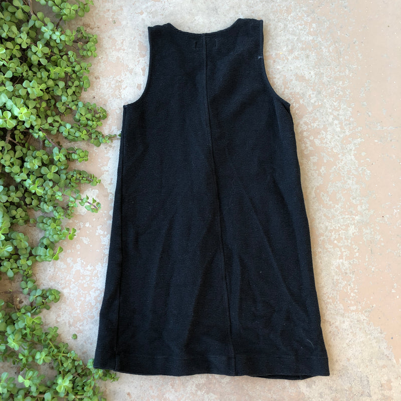 Madewell Texture & Thread Black Dress, Size small