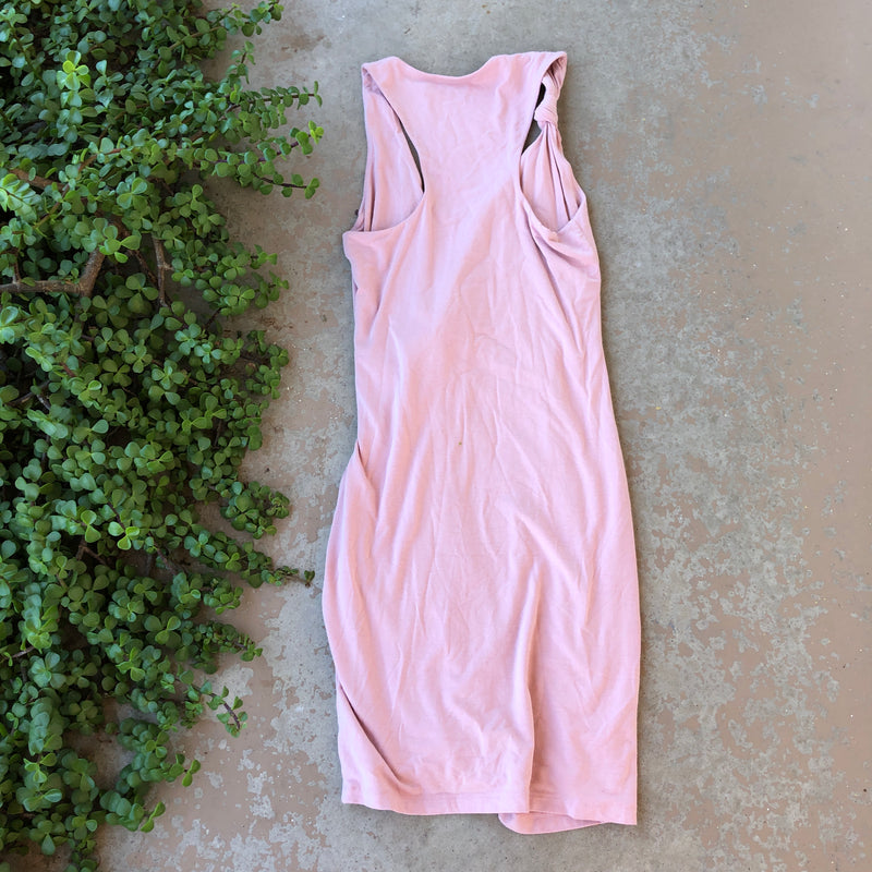 T by Alexander Wang Dusty Rose Stretchy Dress, Size Small