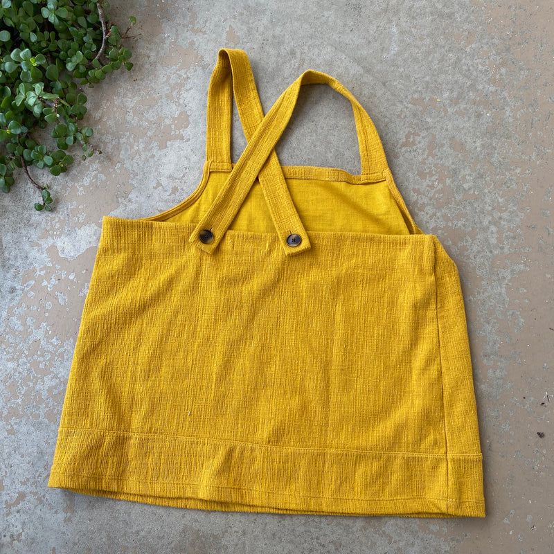 Madewell Mustard Yellow Top, Size XL