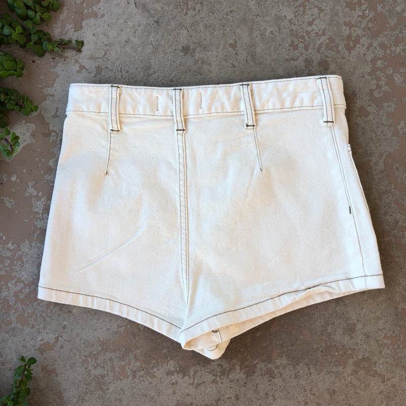 Free People We The Free White Shorts, Size 29