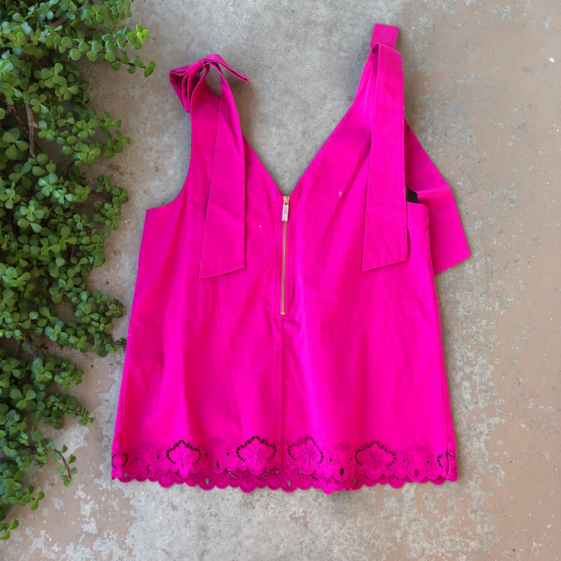 Ted Baker Pink Sleeveless Top, Size US6
