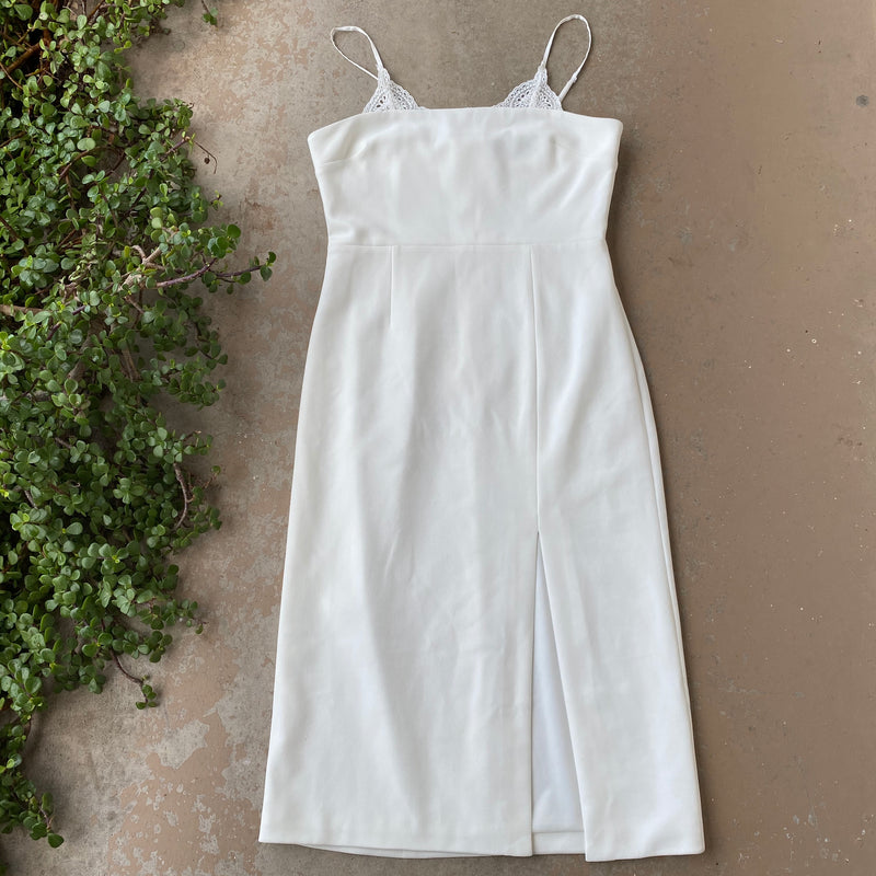 Finders Keepers White Dress, Size US 8