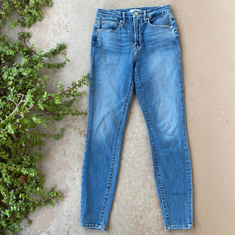 Good American Good Waist Skinny Jeans, Size 6/28
