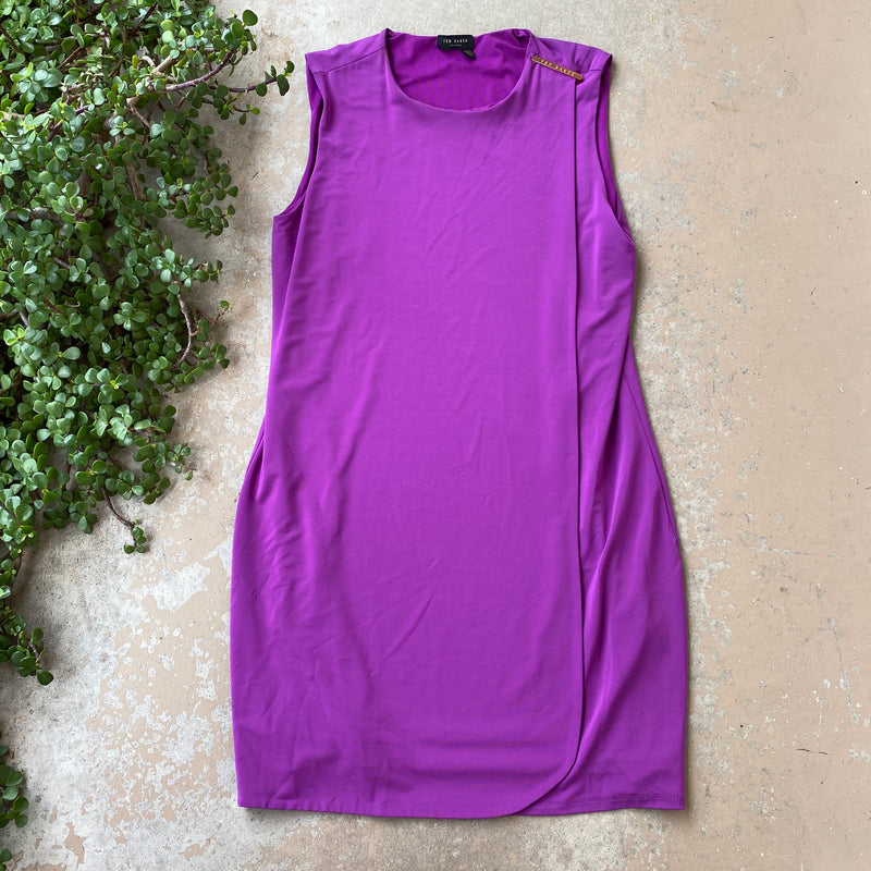 Ted Baker Purple Dress, Fits a Large