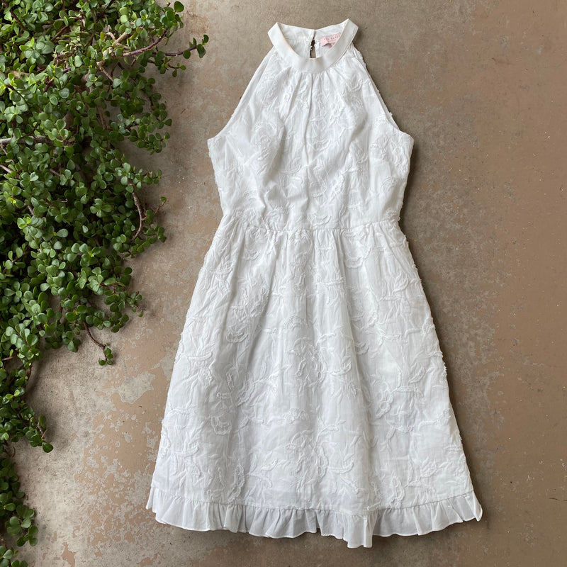 Ted Baker White Dress, Size XS