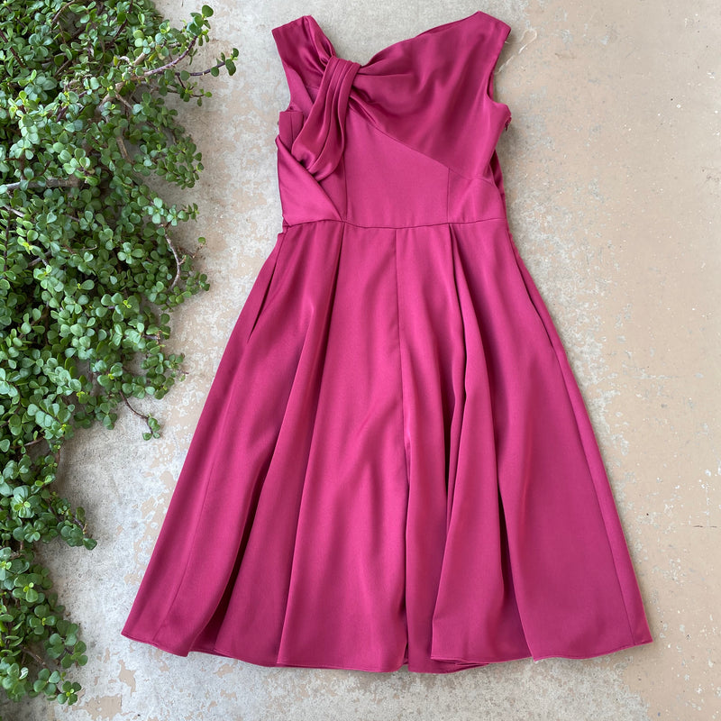 Gal Meets Glam Fuchsia Dress, Size 6