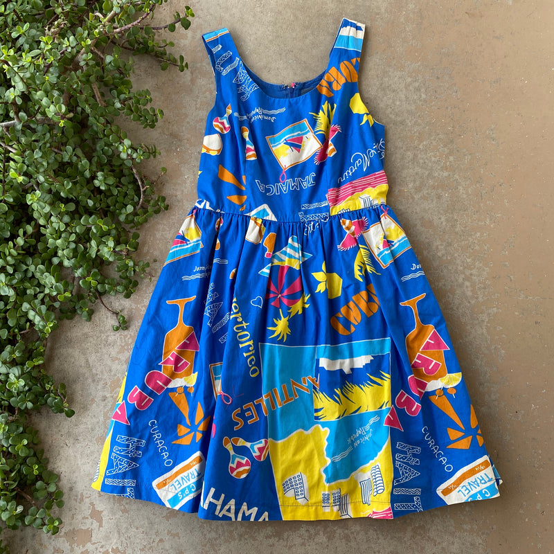 Modcloth Vacation Dress, Size Large