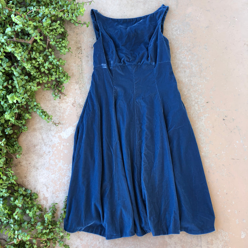 Gal Meets Glam Velvet Dress, Size 6