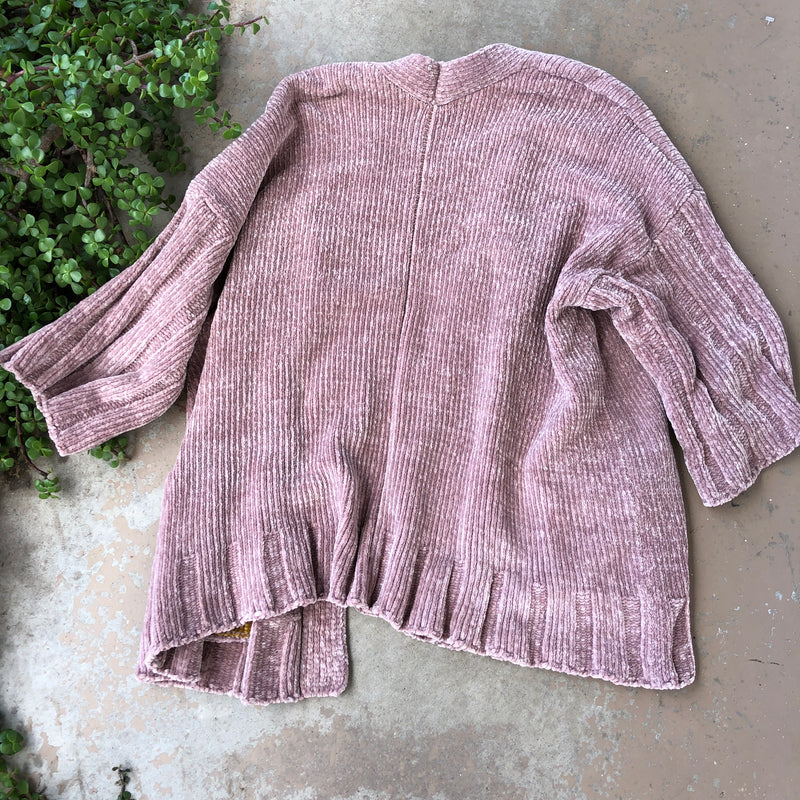 Moth Anthropologie Rose Duster Cardigan, Size Small