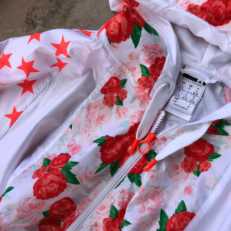 Stella McCartney x Adidas Rose Windbreaker, Size Small