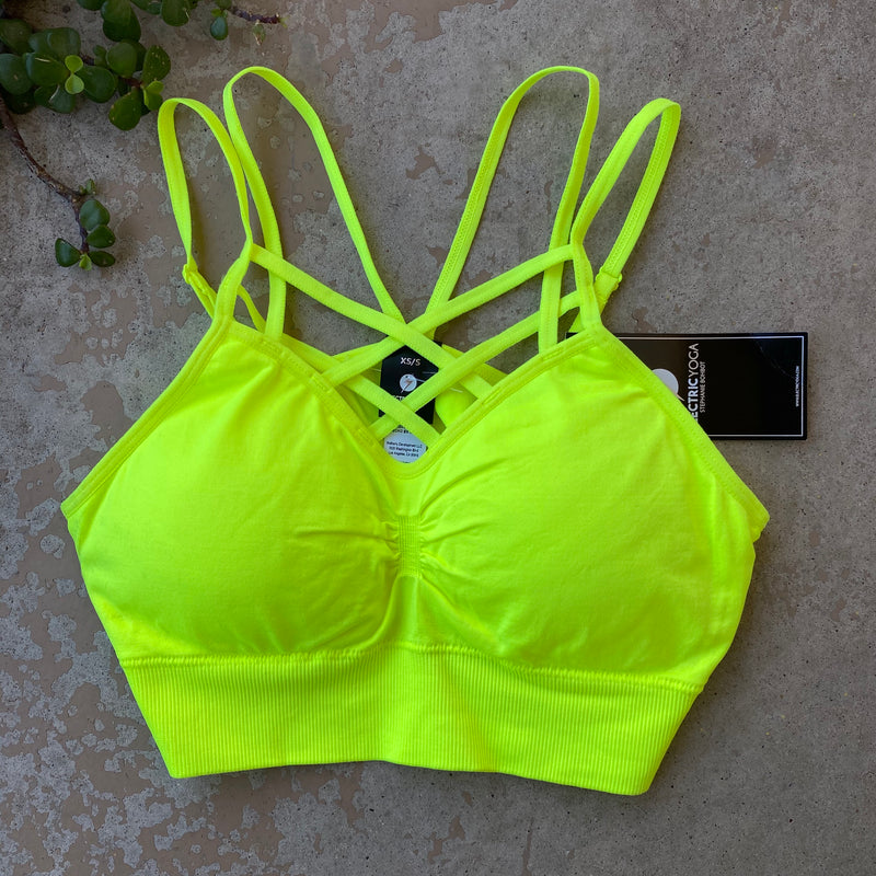Electric Yoga Neon Sports Bra (NWT), Size XS/S