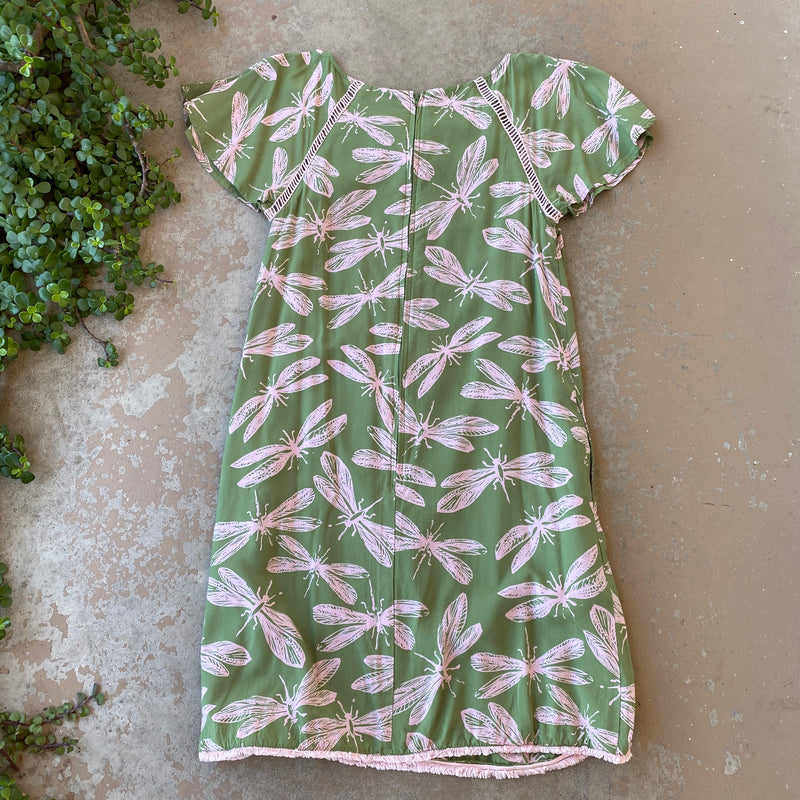 Modcloth Dragonfly Shift Dress, Size Small