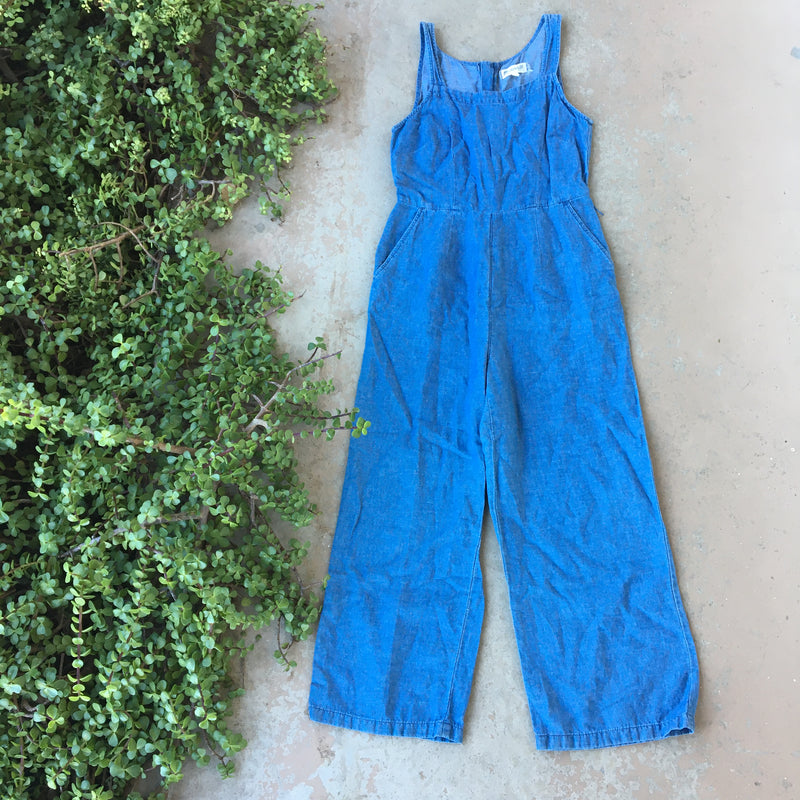 Madewell Chambray Jumpsuit, Size 0