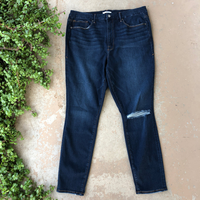 Good American Good Waist Jeans, Size 20