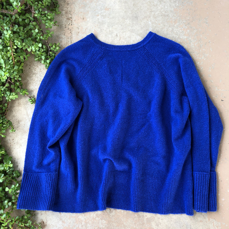 J Crew Blue Sweater, Size 2X
