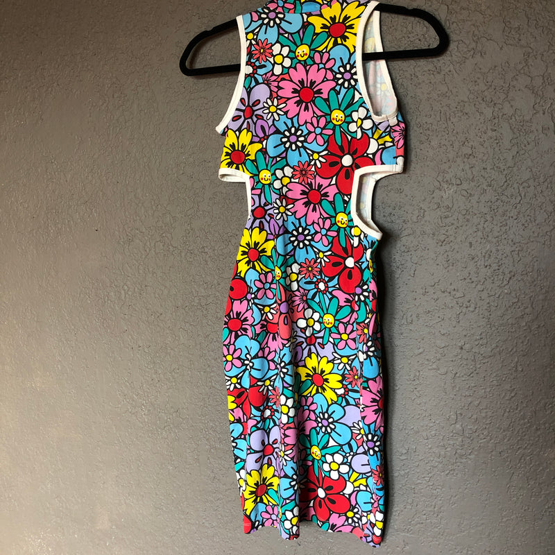 Lazy Oaf X Nasty Gal Flower 60s Dress, Size Small