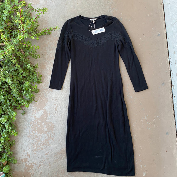 Rebecca Taylor Lace Sweater Dress, Size Small