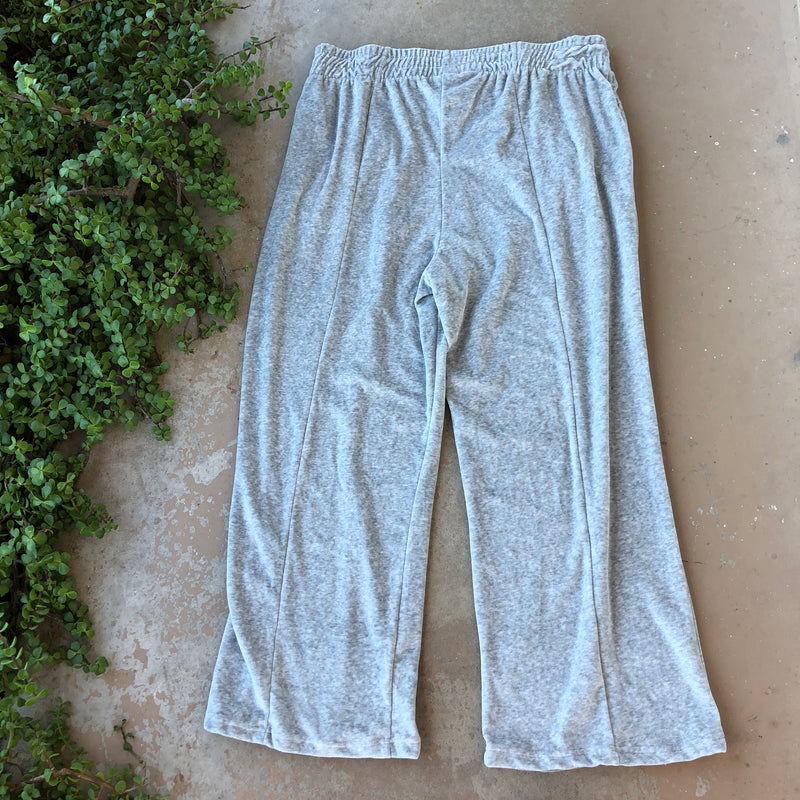 Good American Velour Sweat Pants, Size 3XL