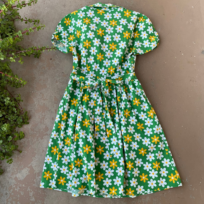Modcloth Retro Floral Dress, Size Small