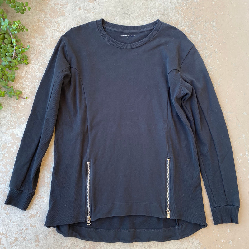Universal Standard Zip Pullover, Size XS (US 10-12)