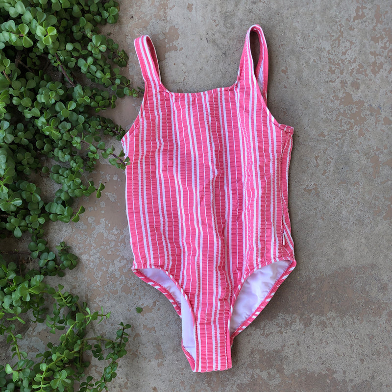 Seafolly Stripe One Piece Swimsuit, Size 12
