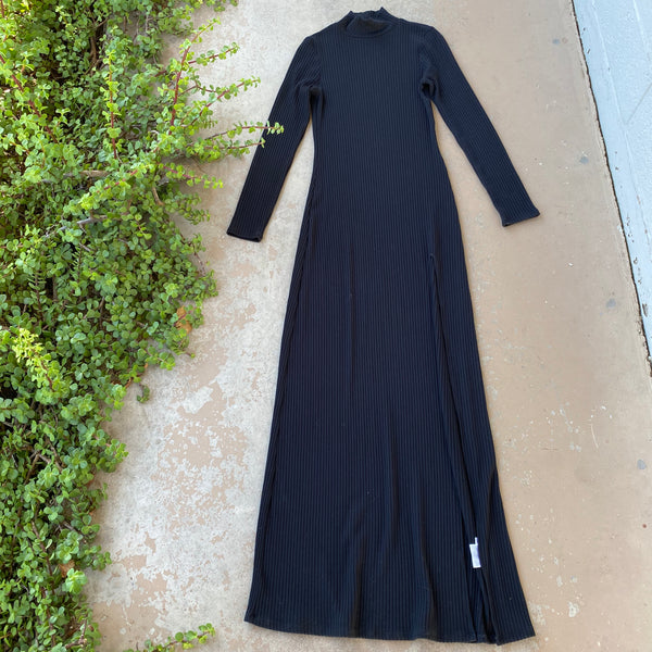 Reformation Ribbed Maxi Dress, Size Small