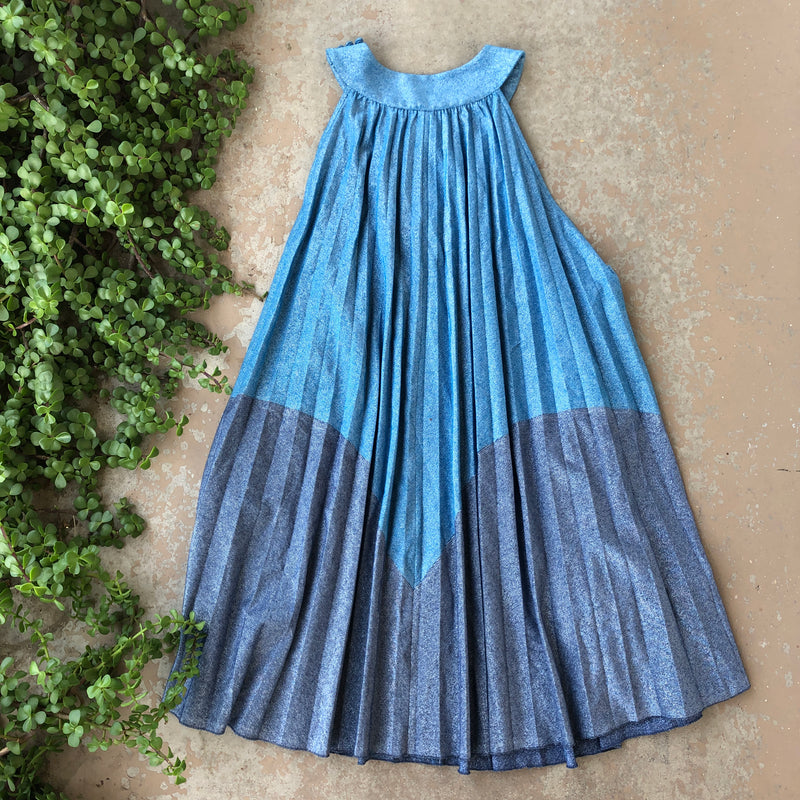 Free People Metallic Swing Dress, Size small