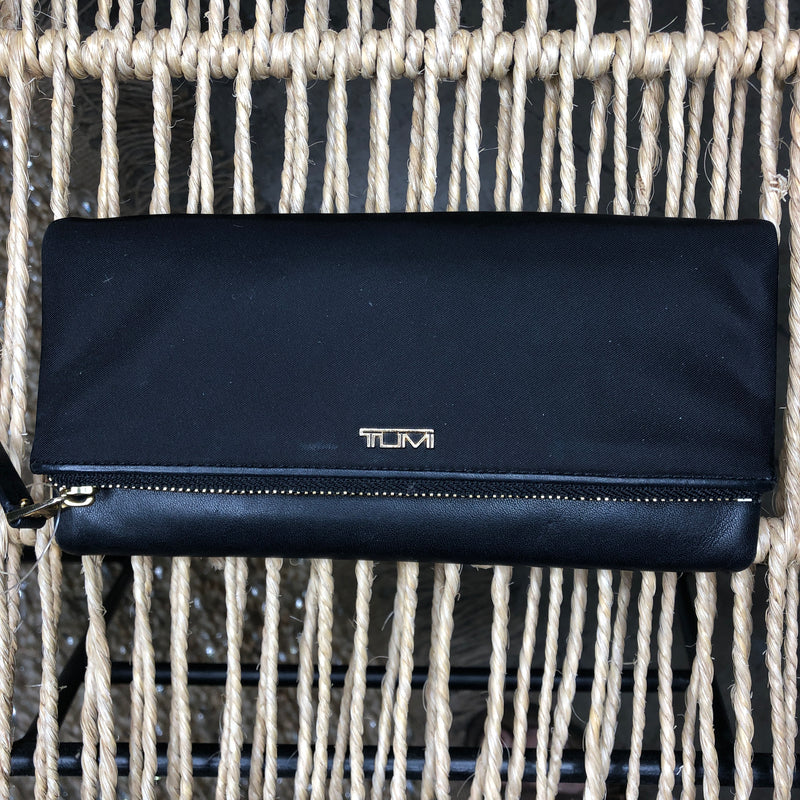 TUMI Nylon & Leather Wallet