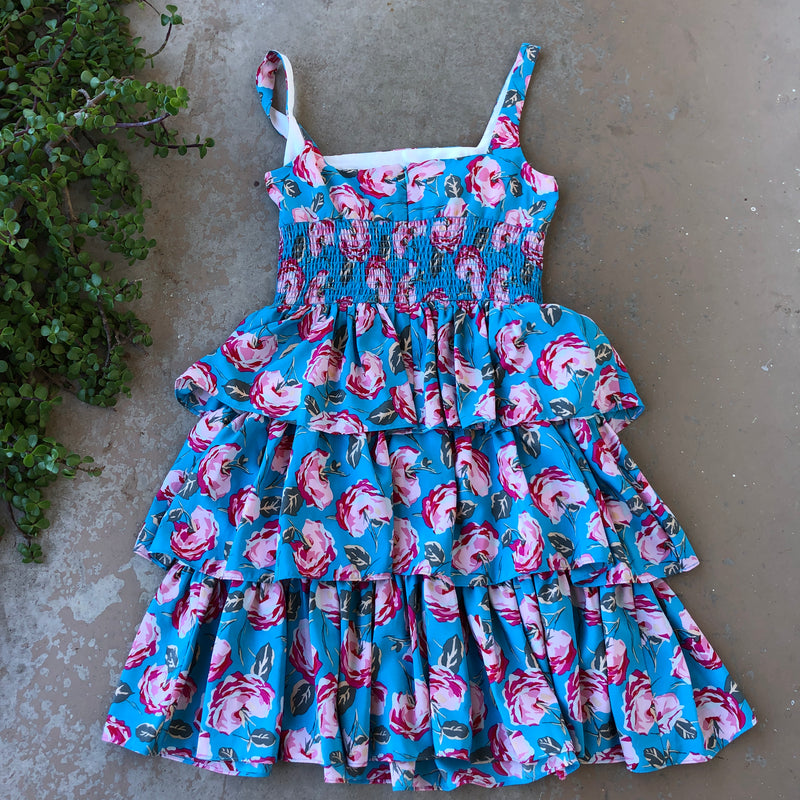 Betsey Johnson Floral Dress, Size 10
