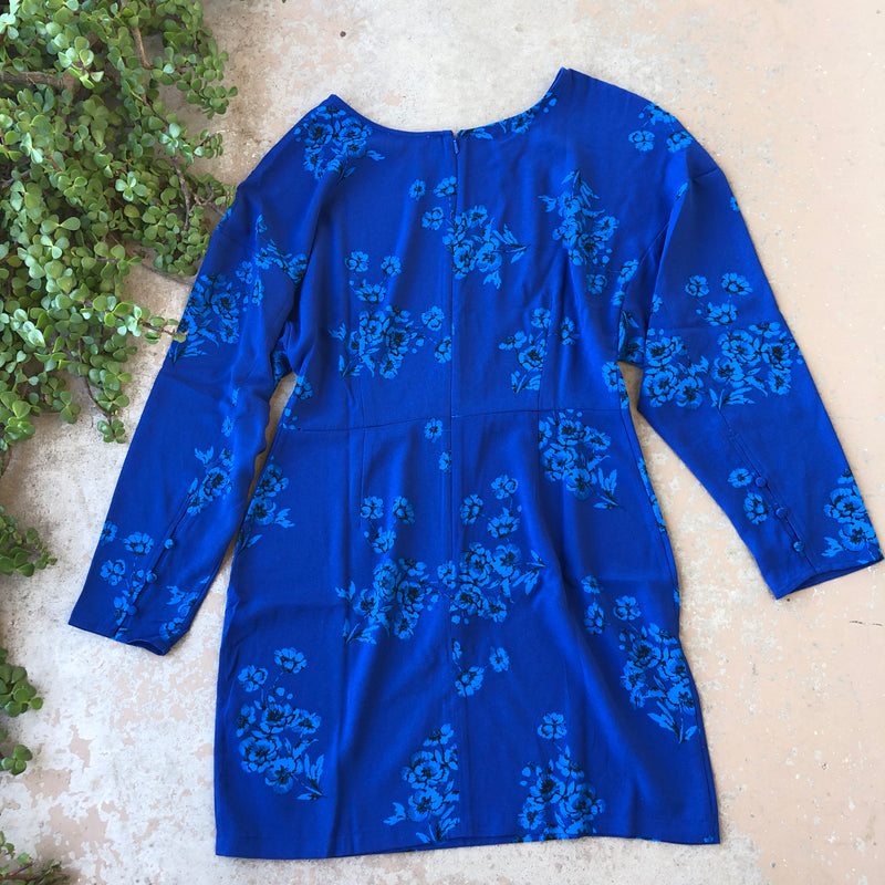 Leith Blue Dress, Size Medium