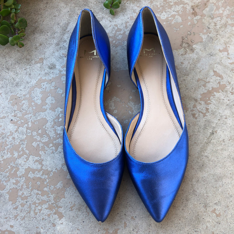 Marc Fisher LTD Blue Flats, Size 6