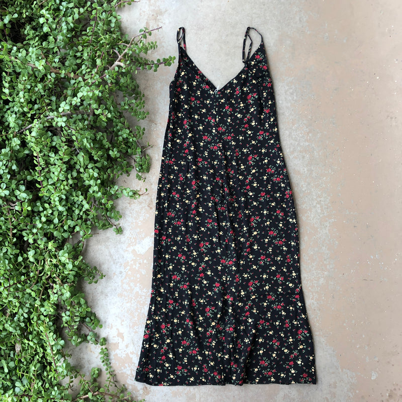 Reformation Floral Midi Dress, Size 4