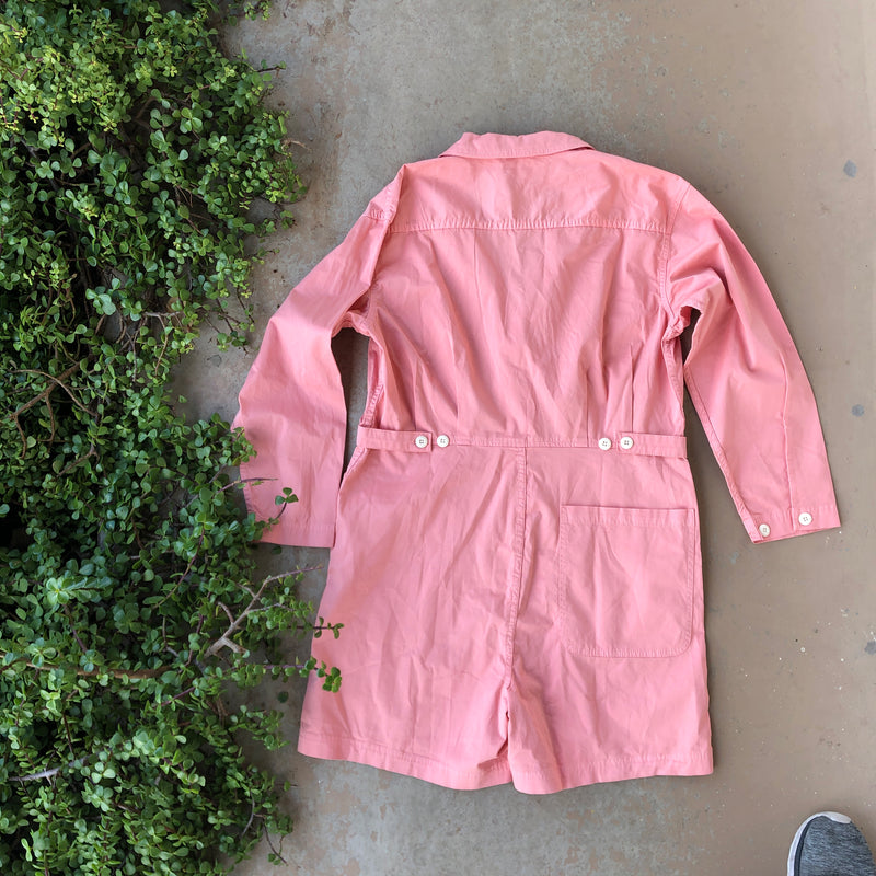 Alex Mill Pink Coveralls, Size XL