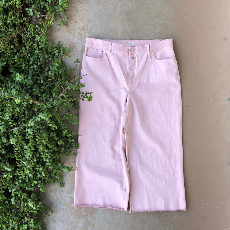 Madewell Pink Jeans, Size 35 (Plus Size)