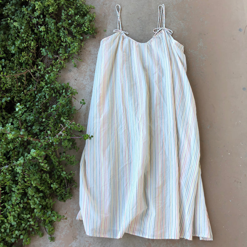 Madewell Striped Mutli-Colored Dress, Size 3X