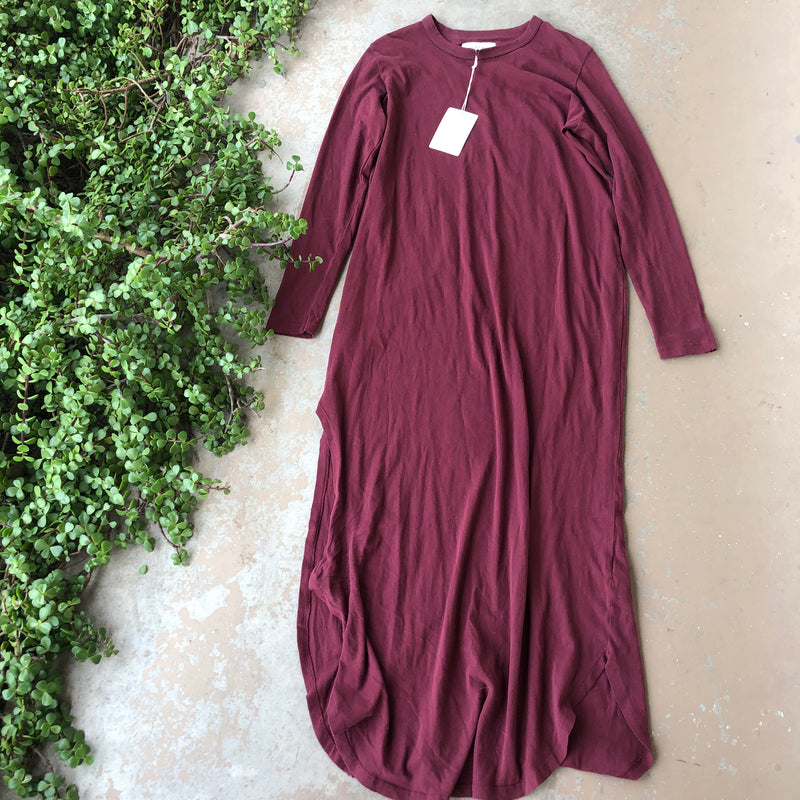 The Great. Maroon Dress, Size 4-6