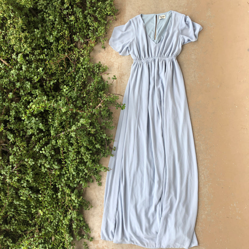 Show Me Your Mumu Blue Dress, Size Medium