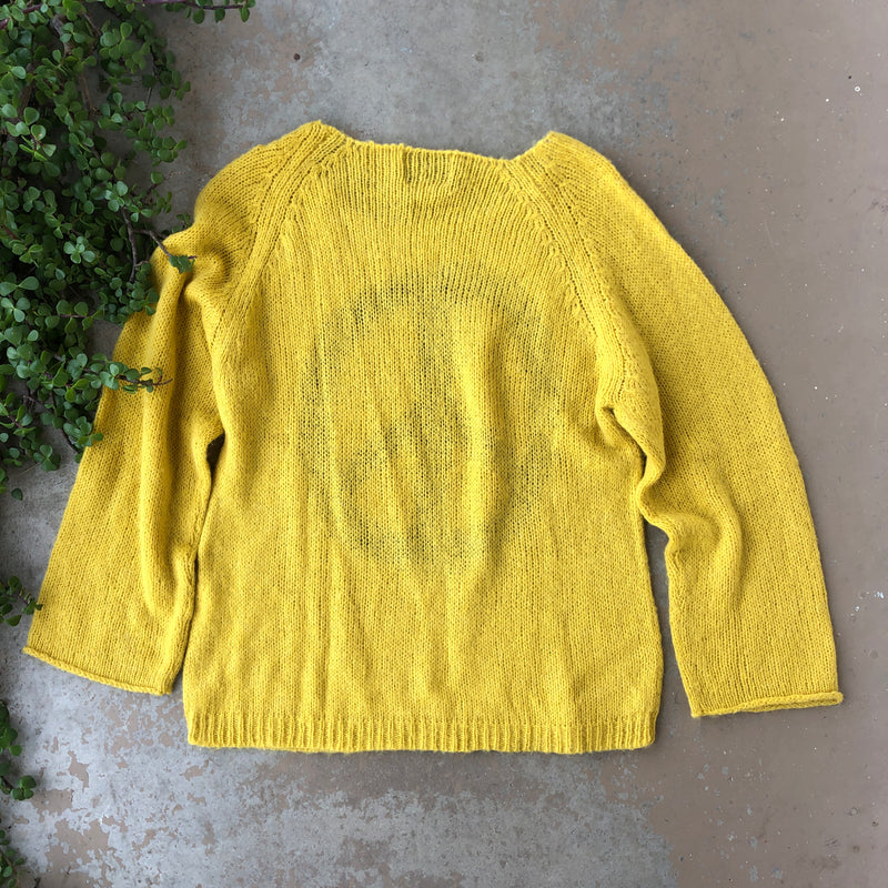 Wildfox Peace Oversized Sweater, Size Large