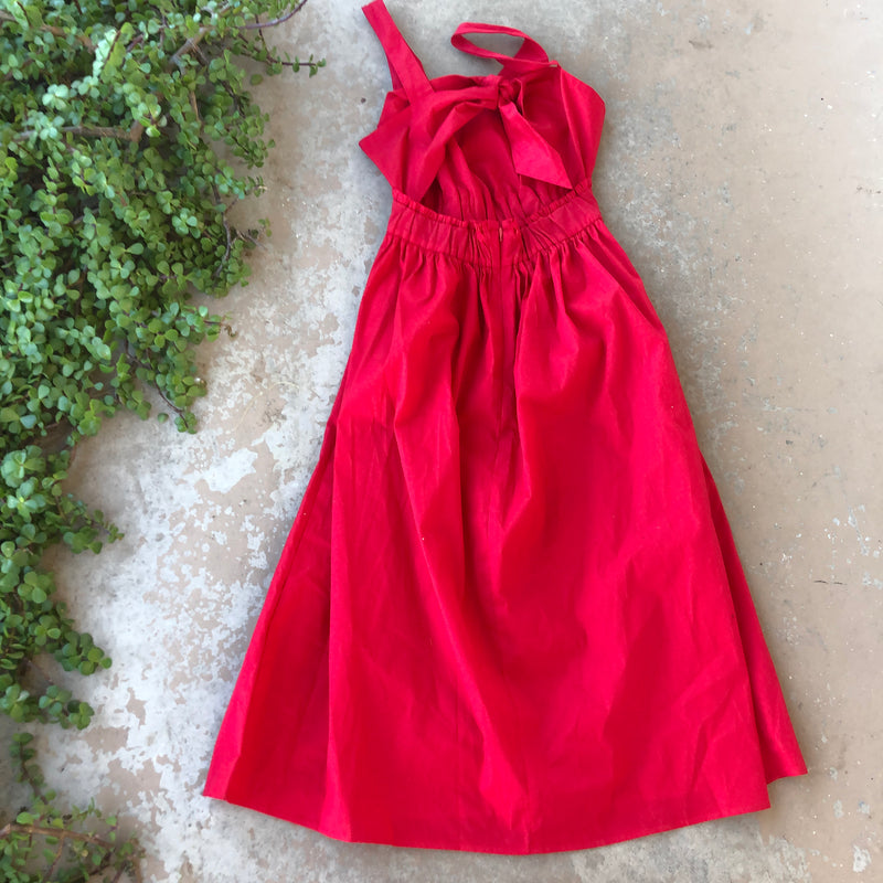 Love ...Ady Red Midi Dress, Size Small