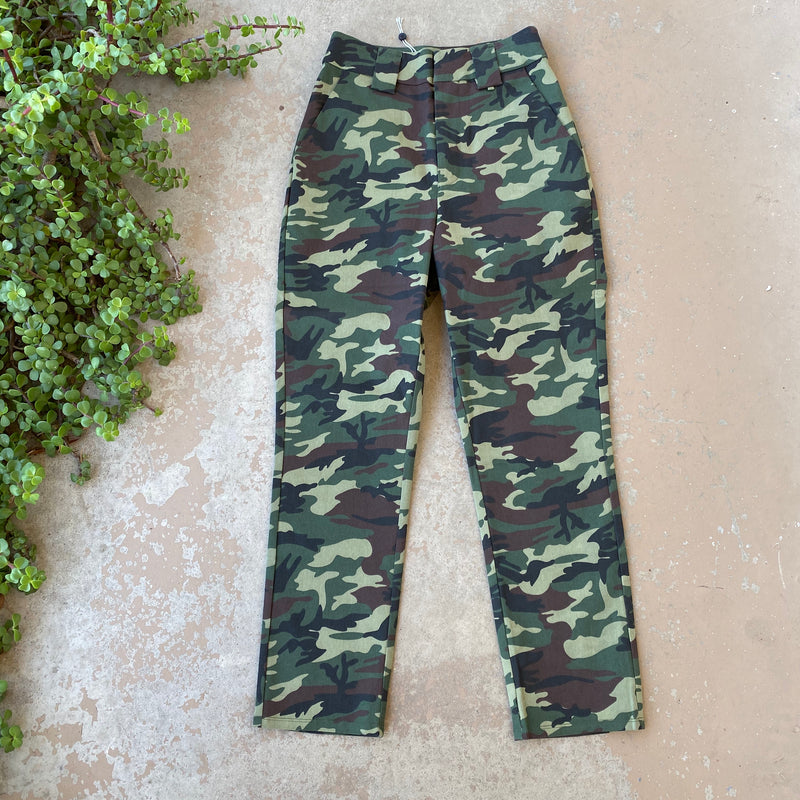 Lovers + Friends Camo Pants, Size Small