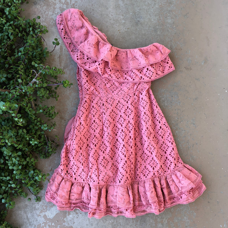 Love Sam Pink Dress, Size Medium