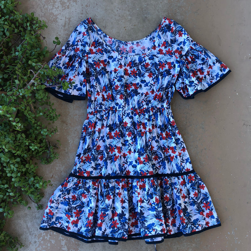 Milly Floral Dress, Size 10