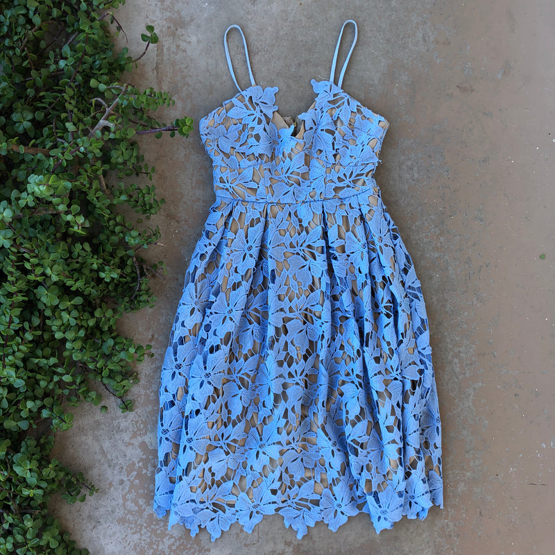 Love Addy Blue Dress, Size Small