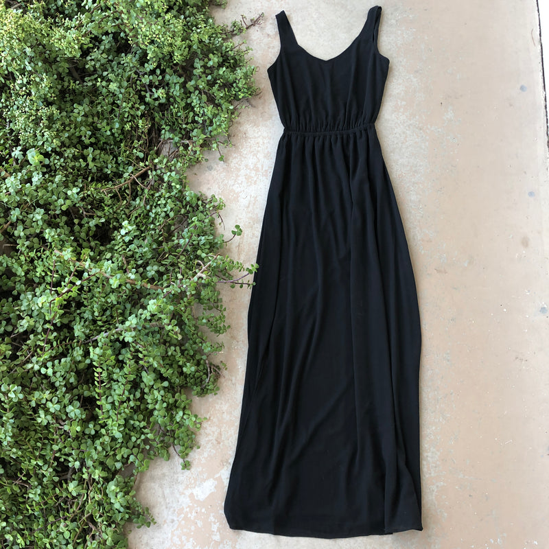 Show Me Your Mumu Black Dress, Size Medium