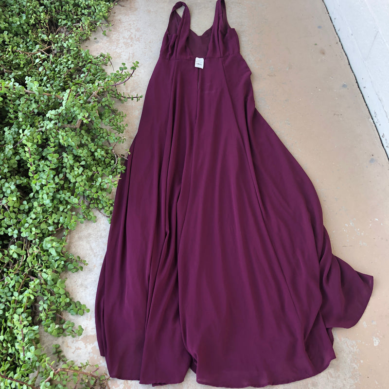 Show Me Your MuMu Maroon Gown, Size Large (NWT)