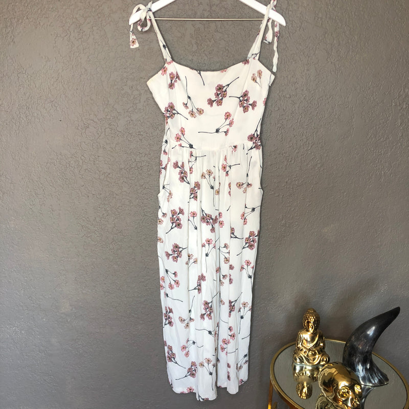Flynn Skype Floral Jumpsuit, Size Small